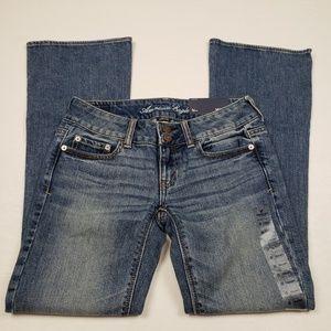 American Eagle Artist Skinny Flare Jeans NWT